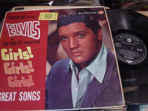 Elvis Presley - Girls Girls Girls - RCA RD.7534 UK