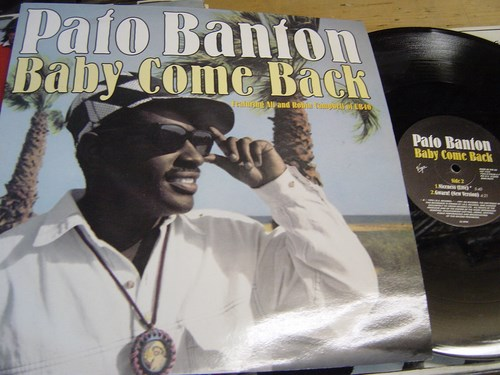 Pato Banton - Baby Come Back - Virgin VST1552 12 inch