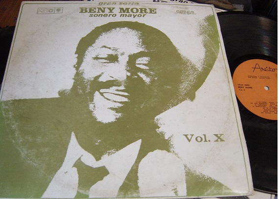 Beny More - Sonero Mayor Vol. X - Arieto LD 4063 Cuba