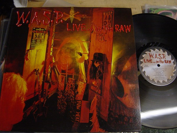 W.A.S.P. - Live in the Raw - Capitol EST 2040 UK 1987