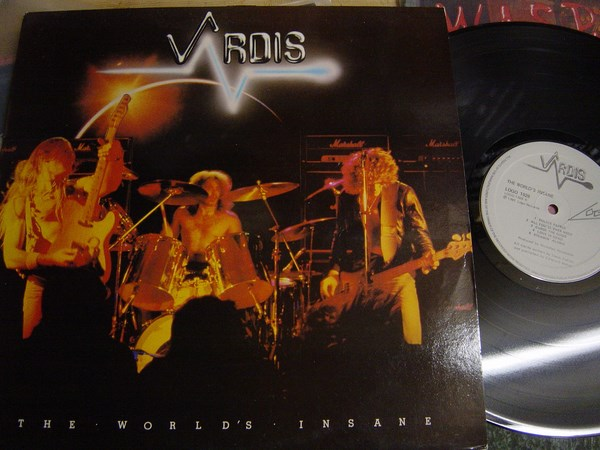 Vardis - The World's Insane - Logo 1026 - UK 1981
