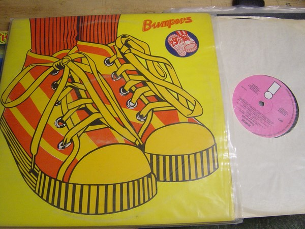 Various - Bumpers - Island Records IDP 1 2 LP - Pink Label