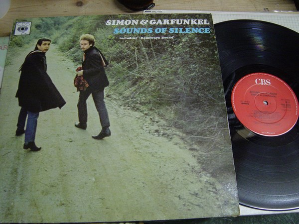 Simon & Garfunkel - Sound of Silence - CBS 32020 UK
