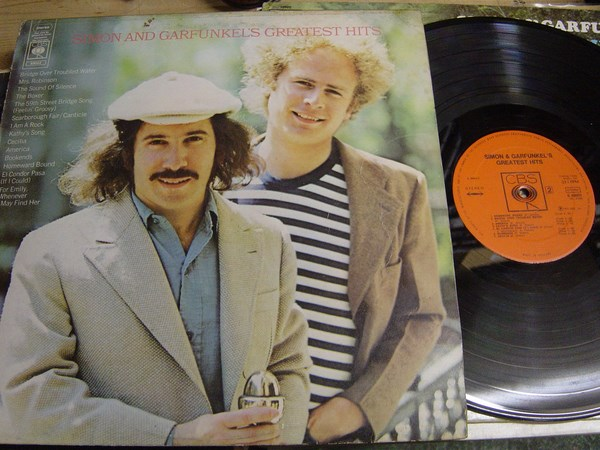 Simon & Garfunkel - Greatest Hits - CBS 69003 UK