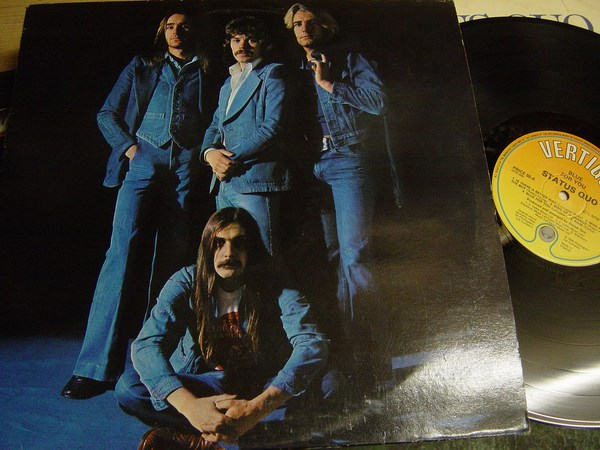 Status Quo - Blue for You - Vertigo 9102 006 UK 1976