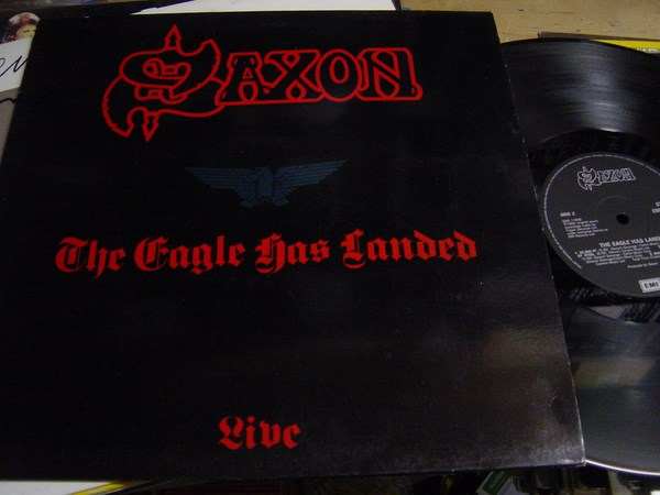 Saxon - The Eagle has landed Live - EMI EMS.1166 - 1982 UK