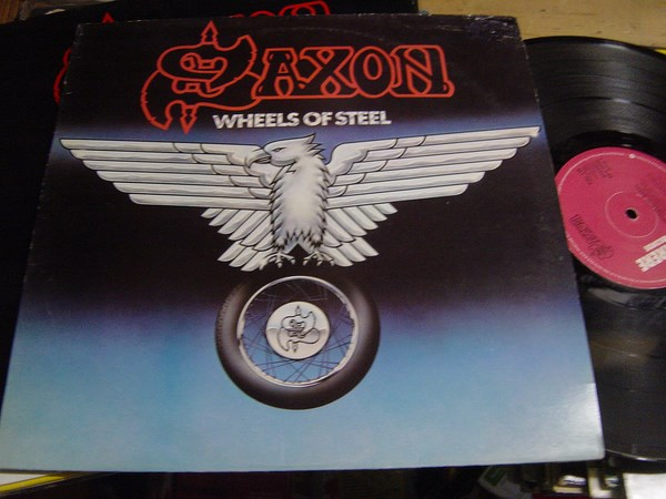 Saxon - Wheels of Steel - Carrere CAL.115 - 1980 UK