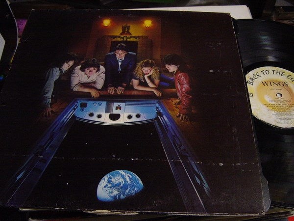 Paul McCartney Wings - Back to the Egg - MPL PCTC 257 - 1979