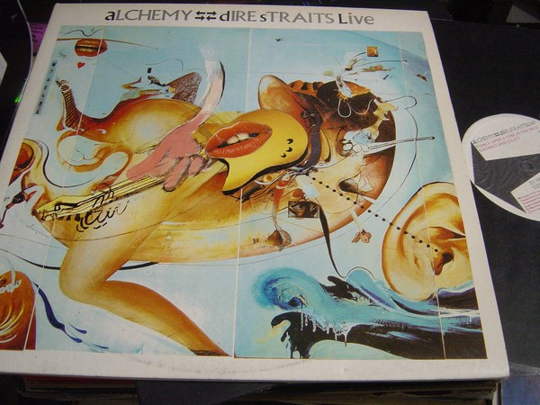 Dire Straits - Alchemy - Vertigo VERY 11 - 2LP UK 1984