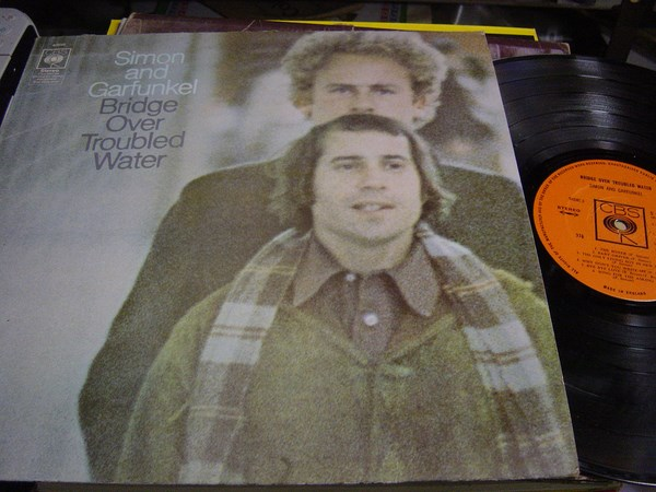 Simon & Garfunkel - Sound of Silence - CBS 63699 UK 1970