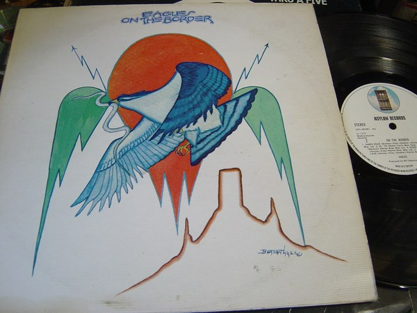 The Eagles - On the Border - Asylum SYL.9016 - UK 1974