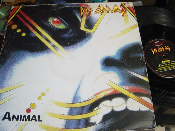 Def Leppard - Animal - Bludgeon Riffola LEPX 1 - UK 1987
