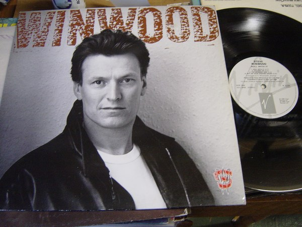 Steve Winwood - Roll with it - Virgin V.2532 - UK 1988