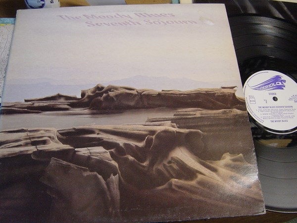 Moody Blues - Seventh Sojourn - Threshold THS.7 - UK 1972