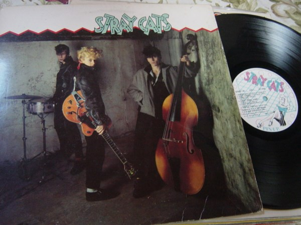 Stray Cats - Self Title - Arista STRAY.1 - UK 1981 Excellent