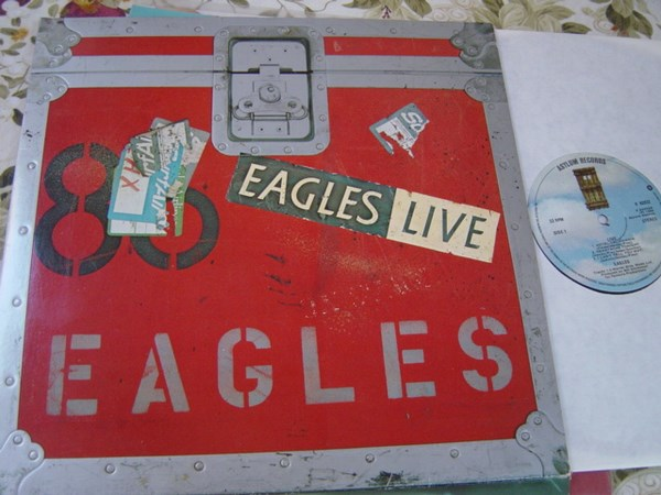 The Eagles - Live 2LP - Asylum AS.62032 - Germany 1980