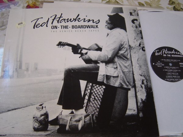 Ted Hawkins - On the Boardwalk - American Activities 2 - UK 1985