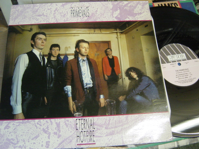 The Primevals - Eternal Hotfire - New Rose .47 Mini Album 1984