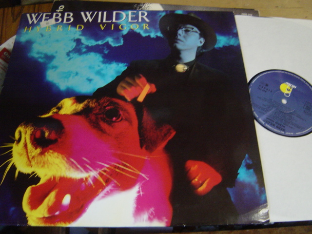 Webb Wilder - Hybrid Vigor - Island 210101 - Germany 1989