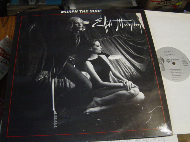 Elliott Murphy - Murph the Surf - Disc AZ AZ2418 - France 1982