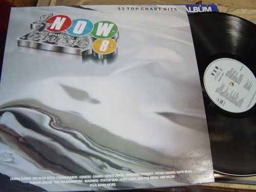Now thats what I call Music 8 - 2 LP Virgin EMI 1986