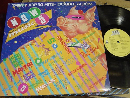 Now thats what I call Music 5 - 2 LP Virgin EMI 1985