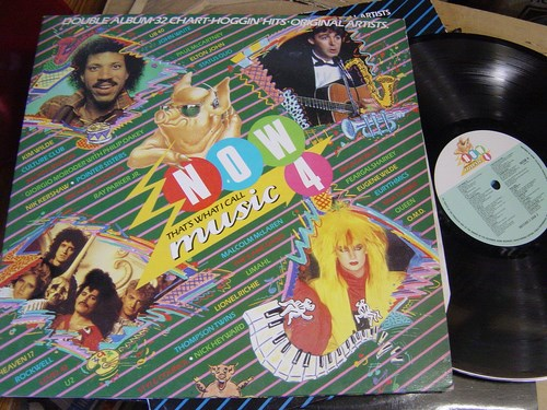 Now thats what I call Music 4 - 2 LP Virgin EMI 1984