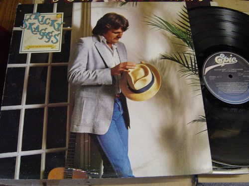 Ricky Skaggs - Waitin' for the Sun to Shine - Epic 84986 1981