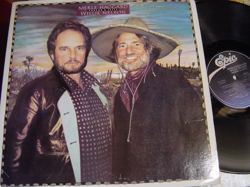 Willie Nelson & Merle Haggard - Poncho & Lefty - Epic 37958