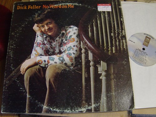 Dick Feller - No word on me - Assylum Records CM-1 USA 1974