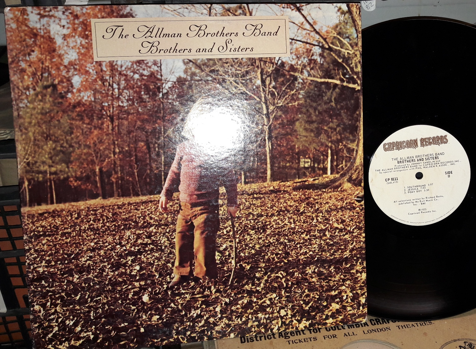 Allman Brothers - Brothers & Sisters - Capricorn CP.0111 USA