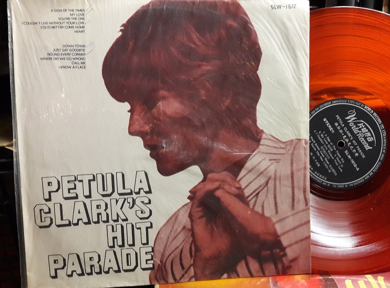 Petula Clark - Hit Parade - World Record China SLW.1612 Orange