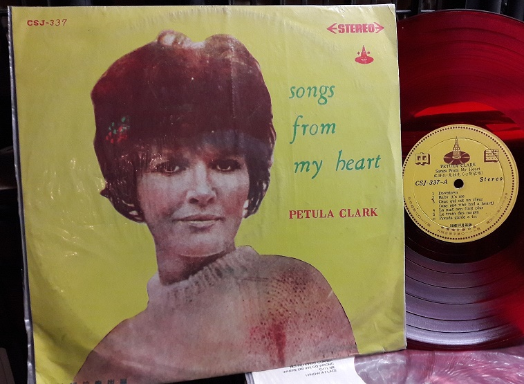 Petula Clark - Songs from my heart - Chung Sheng CSJ.337