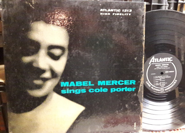 Mabel Mercer - Sings Cole Porter - Atlantic 1213 VG USA