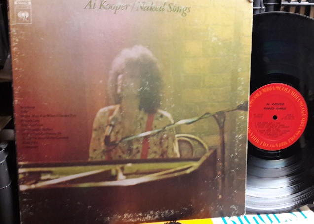 Al Kooper - Naked Songs - Columbia KC.31723 Gatefold 1970's