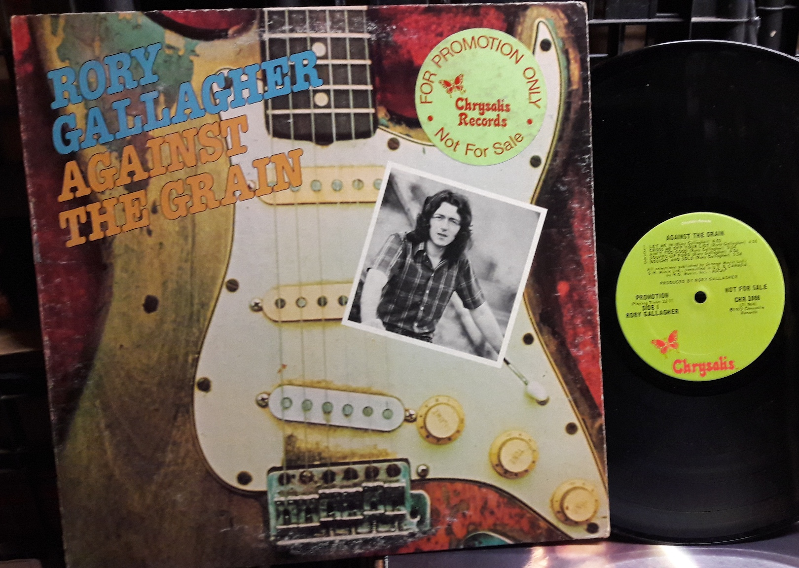 Rory Gallagher - Against the Grain - Chrysalis CHR1098 Promo USA