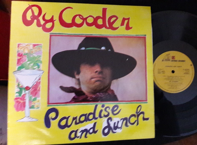 Ry Cooder - Paradise and Lunch - Reprise K.44260 1974 UK