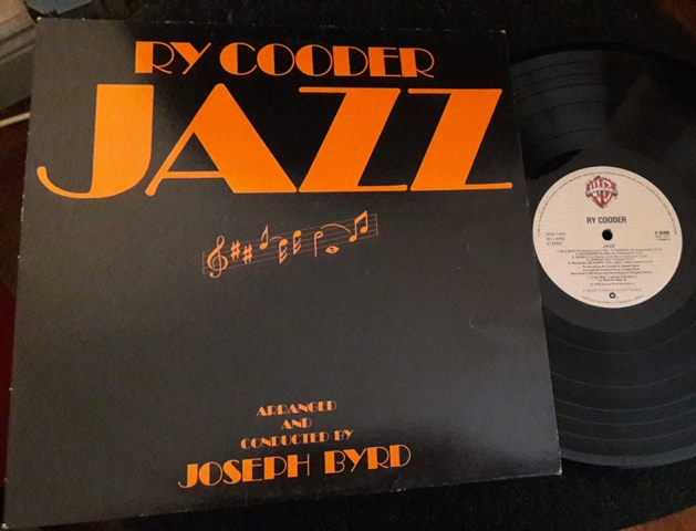Ry Cooder - Jazz - Warner K.56488 1978 UK Ex