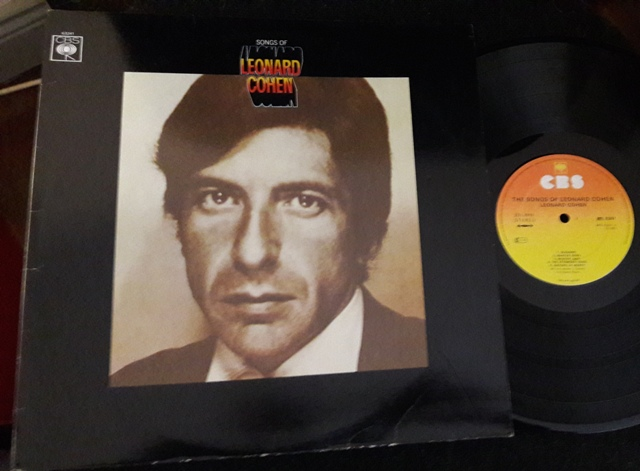 Leonard Cohen - Songs of - CBS 63241 1970'S Excellent