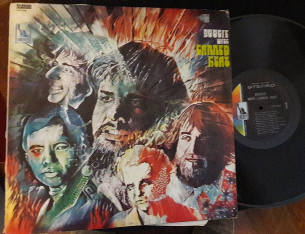 Canned Heat - Boogie with - Liberty LST 7541 USA 1968