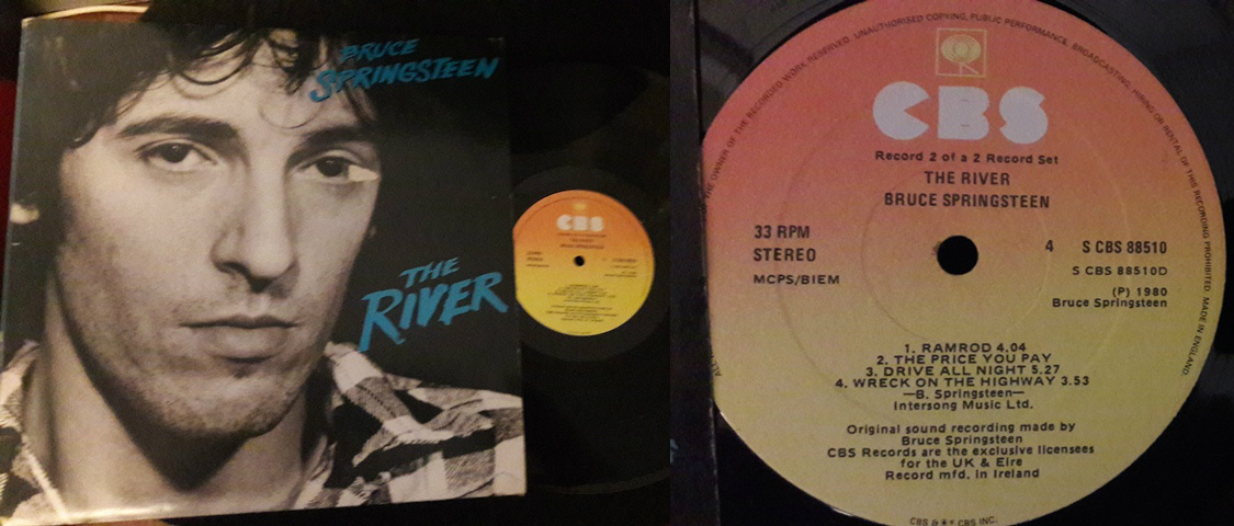 Bruce Springsteen - The River - CBS 88510 - Irish 2 lp 1980