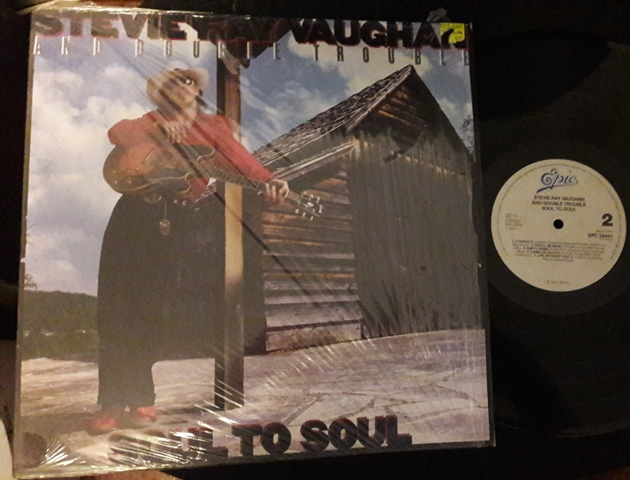 Stevie Ray Vaughan - Soul to Soul - Epic 26441 - Germany 1985