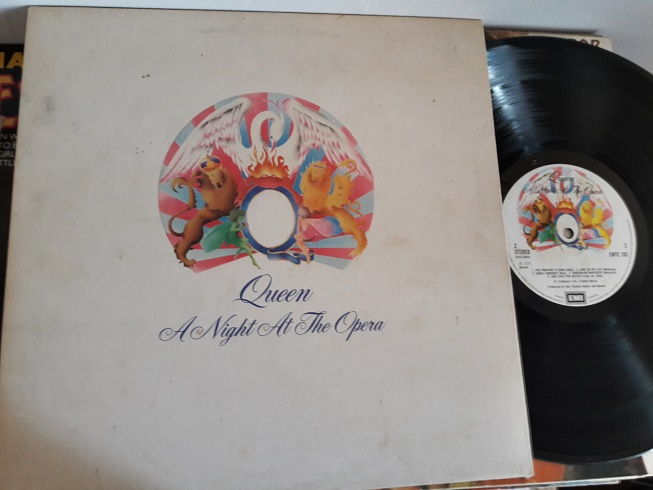 Queen - Night at the Opera - EMI EMTC.103 - 1st Pressing Blairs