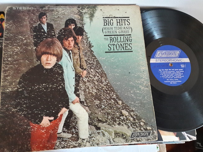 Rolling Syones - Big Hits - London NPS-1 - USA Pressing VG