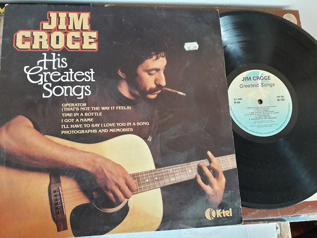 Jim Croce - His Greatest Hits - K-TEL NE.1059 UK 1980