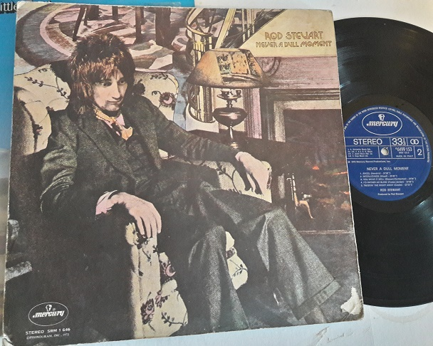 Rod Stewart - Never a dull moment - Mercury 6499153 1972