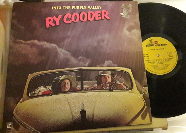 Ry Cooder - Into Purple Valley - Reprise K.44142 UK 1971 VG+