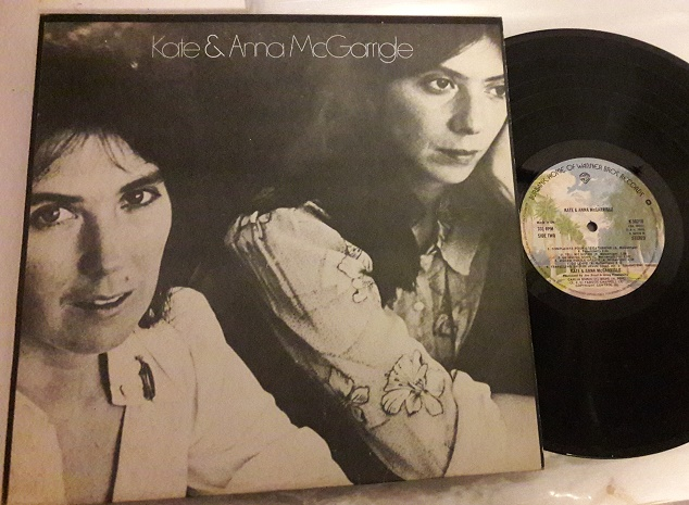 Kate & Anna McGarrigle - Self Title - Warner K.56218 UK 1975
