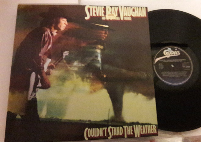 Stevie Ray Vaughan - Couldn't Stand - Epic 25940 - Holland 1984