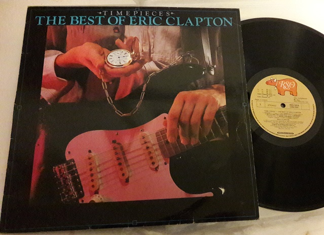 Eric Clapton - Time Pieces - RSO RSD 5010 - Irish Made 1982